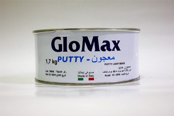 Glomax 1.7 Kg Putty ( Made in Italy )